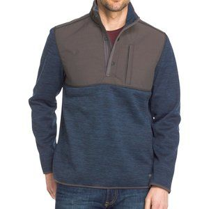 G. H. Bass Mens Pullover Jacket Size L